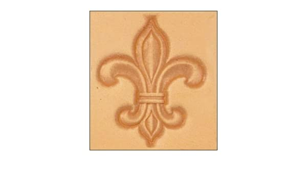 Tandy Leather Craftool 3D Fleur De Lis Stamp 8613 00 4336864464