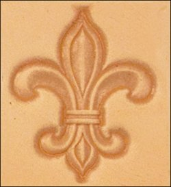 Amazon Tandy Leather Craftool 3D Fleur De Lis Stamp 8613 00