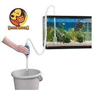 Foodie Puppies Siphon Pipe for Aquarium and Gravel Cleaner Water Changer Pump (1.5m)