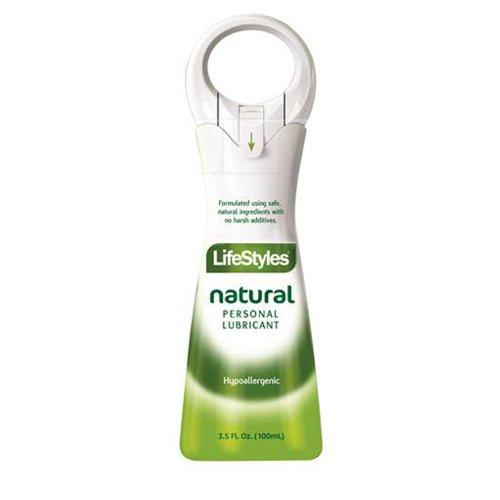 Lifestyles Natural Desire Personal Lubricant, 3.5