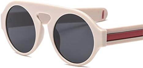 ROirEMJ La Mujer Gafas De Sol Diseño Exclusivo Flat Top Moda Gafas Redondas  Gafas De Estilo Vintage Claro E. Cargando imágenes. e4c289fc2daf