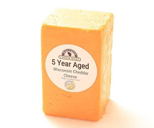 Aged Cheddar - 5 Year Aged Cheddar Half Loaf