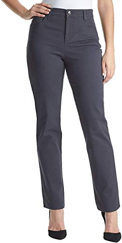 Gloria Vanderbilt Women's Amanda Classic Tapered Jean (16, Grey Twilight) - Paris Blues Jeans Pants
