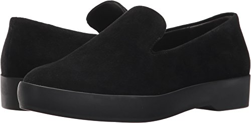 Donna Karan Women's Pia Slip-On Black Kid Suede 8 M US