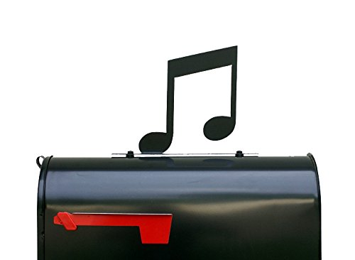 Musical Notes Silhouette Mailbox Topper / Sign