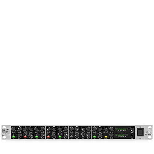 Behringer Eurorack Pro RX1602 Professional Multi-Purpose 16-Input Ultra-Low Noise Line Mixer (Arsenal Guitar Picks)