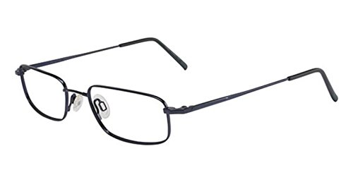 Flexon Flexon 628 Eyeglasses 426 Cobalt Blue Demo 49 18 - Eyeglasses Blue Cobalt
