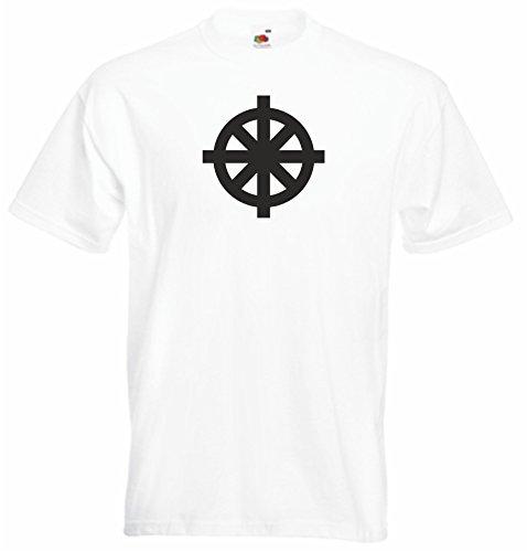 Black Dragon - T-Shirt Man / JDM / Die cut - white - Beschleunigt Geist und Körper Fun Racing XL - JDM / Die cut ()