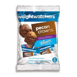 Weight Watchers Pecan Crowns 3 oz. Bag
