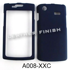 ACCESSORY HARD RUBBERIZED CASE COVER FOR SAMSUNG CAPTIVATE (GALAXY S) I897 NAVY BLUE