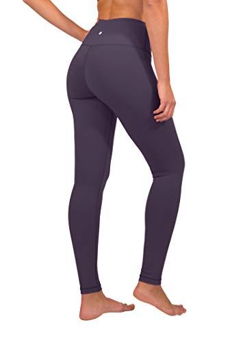 4215fb243ebf5 90 Degree By Reflex High Waist Squat Proof Interlink Leggings for Women -  Sweet Acai -