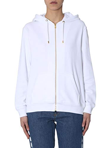 Femme Coton Moschino 171005278001 Sweatshirt Blanc dtqp0q