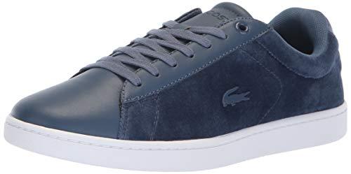 Lacoste Women's Carnaby Evo Sneaker, Dark Blue/White