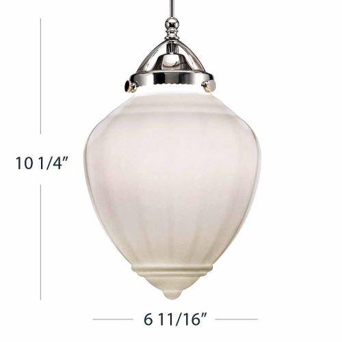 Led Classic Monopoint Pendant (WAC Lighting Milford MP-LED495 Pendant Light)