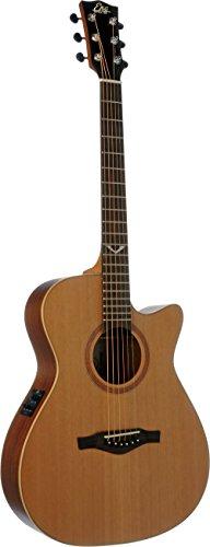 Mahogany Cutaway Guitar (EKO Guitars 06217059 EVO Series Auditorium Cutaway Acoustic-Electric Guitar)