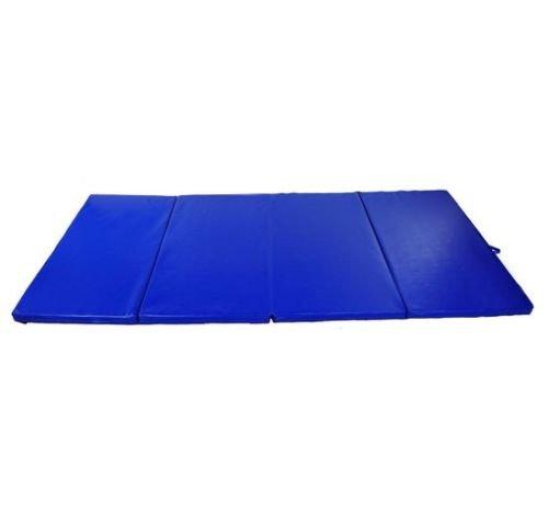 Generic O-8-O-4144-O ga Mat Stretching Gym ng Gym Aerobics cs Stre Blue Gymnastics Mats rcise A Yoga Mat 4'x8'x2″ ts Fold Folding Exercise NV_1008004144-TYQFUS32