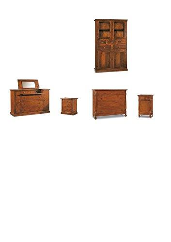 Lo Scrigno Arredamenti, Mobile dispensa da cucina 4 porte 5 cassetti ...