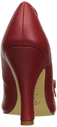 Faux Couture SMITTEN 20 Up Pin Red Leather zOxw4Xq