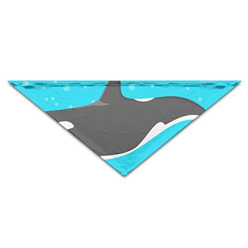 OHMYCOLOR Ocean Killer Whale Sea Orca Dog Bandanas