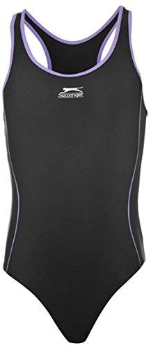 6c557e1f9a67b Slazenger Girls Basic Swimsuit Swimming Suit Junior Costume - Buy ...