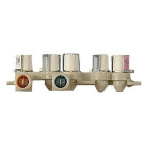 Assembly Electronic Valve (LG Electronics AJU73213301 Washing Machine Inlet Valve Assembly)