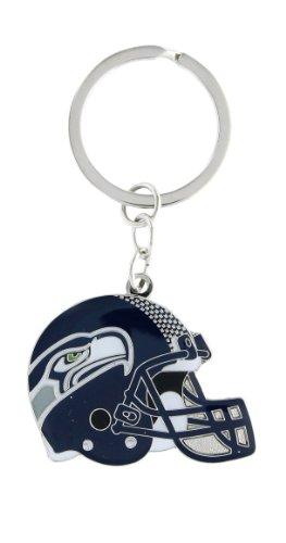 Keychain Logo Helmet (aminco NFL Seattle Seahawks Helmet Key Ring)