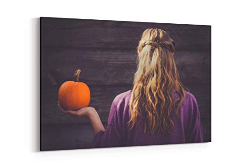 Hair Autumn Fall and Halloween in San Luis Obispo United States - Canvas Wall Art Gallery Wrapped 26