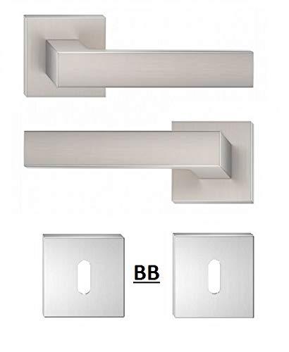 Pomo para puerta, pomo para puerta, H, cuadrado, BB, PZ, WC ...