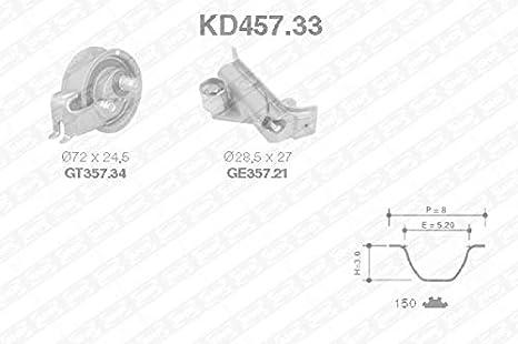 Zahnriemensatz SNR KD457.61