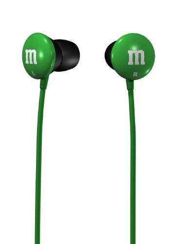 Maxell M&M'S Lightweight EarBuds - Green (190557)