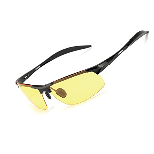 Night Vision Glasses for Driving Rain Day Driving Anti Glare Polarized Safe Night Driving glasses - Polarized Clear Glasses Driving