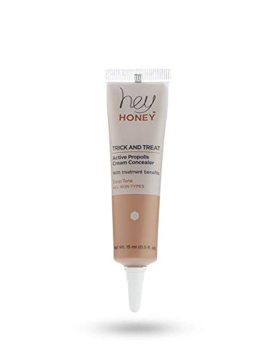 The Original Hey Honey Concealer - Active Propolis Cream Concealer - TRICK AND TREAT - Hey Honey Skin Care (Deep)