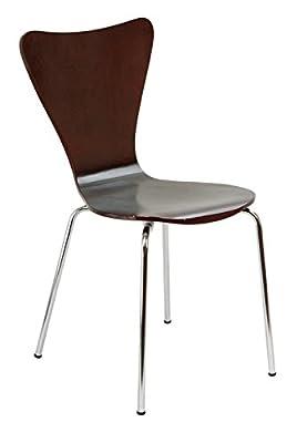Kids Desk Chair - Children, Toddler Room Modern Furniture - Sturdy Bent Plywood Seat