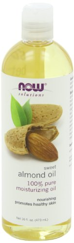NOW Foods, All New Mega Pack, Sweet Almond Oil, Moisturizing Oil, 64 Ounce Pack (Now Foods Sweet Almond Oil)