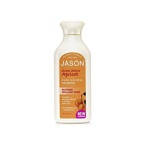 ジェイソン有機アプリコットシャンプー(473ミリリットル) x4 - Jason Organic Apricot Shampoo (473ml) (Pack of 4) [並行輸入品] B072L43913