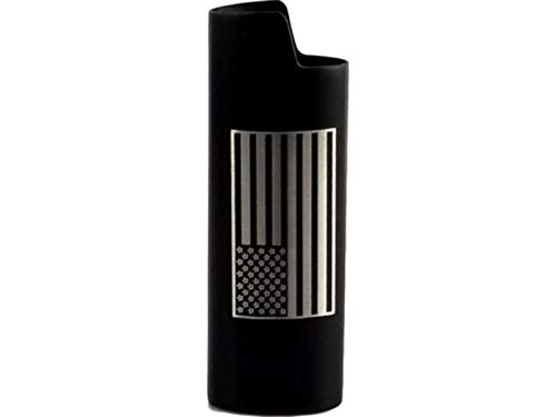 American Flag Lighter Cover add Your Name (MANY COLOR choices)
