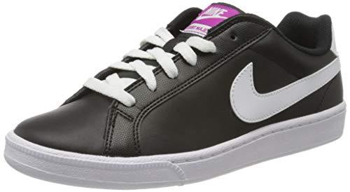 nike womens court majestic running trainers 454256 sneakers shoes (US 6.5, black white fuschia flash 017)