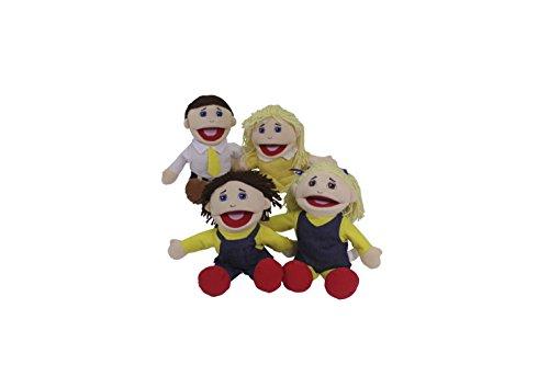 Caucasian Family Puppet - Marvel Education Company Family Puppet Set CAUCASIAN Family