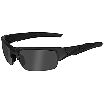 01c02518a3a Amazon.com  Wiley X Valor Sunglasses (Smoke Grey Lens