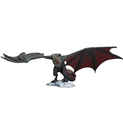 McFarlane Toys Game of Thrones Drogon Deluxe Box, Black (Game Thrones Dragon)