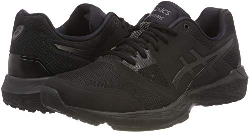 Asics Femme black Ff Noir Running quest black 001 Gel qxqwSZf