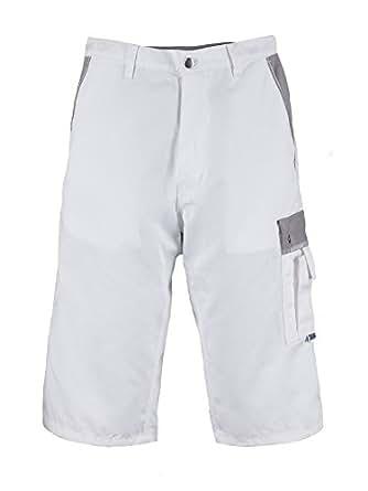 Tmg pantalones cortos cargo para pintores y decoradores muy resistentes blanco w42 - Pintores y decoradores ...