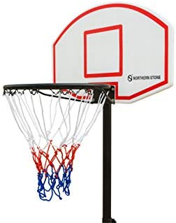 Official NET1 Attack Youth Kids Portable Basketball Hoop Stand Net Freestanding
