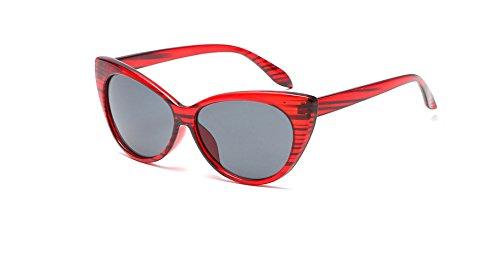 Shades de la espejo Gafas ora ojo gato vendimia PC Retro Se sol de de mujeres los Gafas vidrios Cateye venta Mujeres Hykis Oculos las la de del gris burdeos luneta Sun de cap¨ªtulo caliente qx6twSznB
