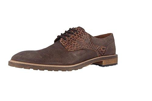 MANZ-terni chaussures pour homme marron chaussures en matelas grande taille