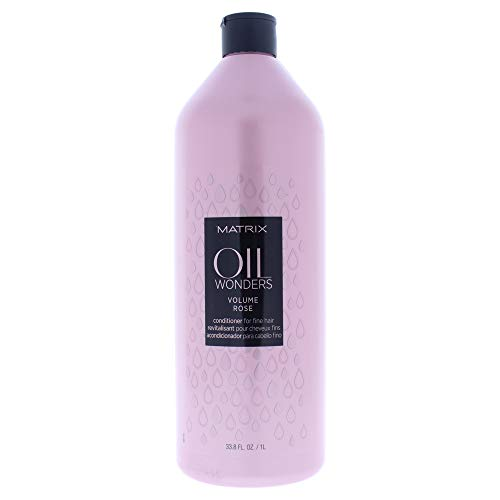 Matrix Oil Wonders Volume Rose Conditioner For Fine Hair, 33.8 Fl Oz