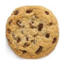 Otis Spunkmeyer Gourmet Bagged Oatmeal Raisin Cookie Dough, 5 Pound Bag -- 4 per case.