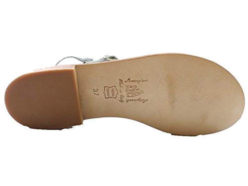 Zapatos Mujer EDDY DANIELE 41 EU Sandalias Gris Gamuza AW110