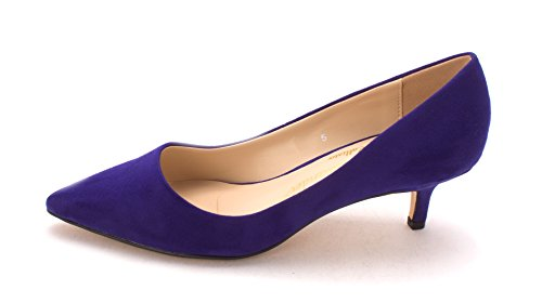 Athena Alexander Womens Teagan Pointed Toe Classic Pumps, BluSde, Size 5.0