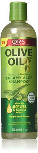Ors Shampoo Olive Oil Creamy Aloe 12.5oz (Pack of 2)